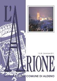 Anno 15 - N. 28 - Dicembre 2011 - Comune di Aldeno