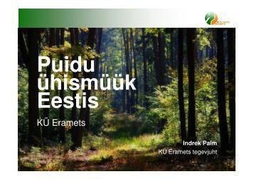 Puidu ühismüük Eestis, Indrek Palm