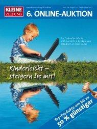 6. Online-AukTiOn - Der Kleinen Zeitung - Kleine Zeitung