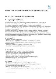 CHARTE DU DIALOGUE PARTICIPATIF ... - La Seyne-sur-Mer