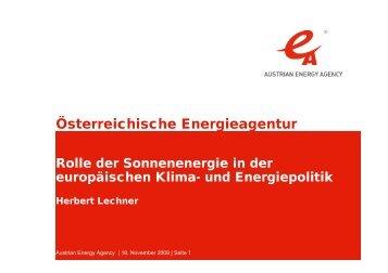 Österreichische Energieagentur - WEC