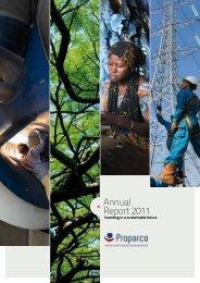 Annual Report 2011 - Agence Française de Développement