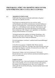 protokoll fört vid årsmöte med svensk knivförening den 13 juli 2012 i ...