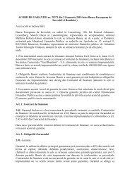 ACORD DE GARANTIE nr. 25371 din 21 ianuarie 2010 între Banca ...