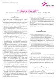 Ogólne Warunki Umowy Sprzedaży Energii Elektrycznej - Promocje ...
