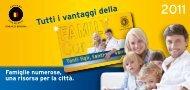 Tutti i vantaggi della Family Card - Comune di Bergamo