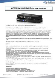 CE600 DVI USB KVM Extender von Aten - BellEquip GmbH