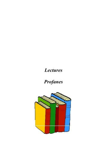 Lectures Profanes