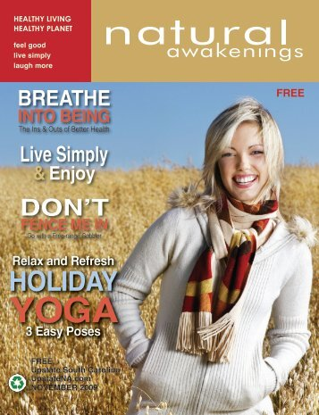 November 2009 - Upstate Natural Awakenings