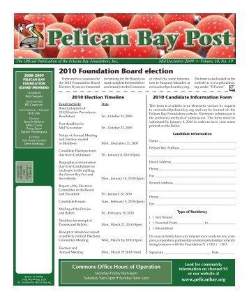 Mid December 2009 - Pelican Bay