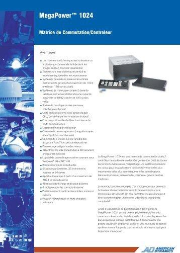Fiche produit - IP CCTV GmbH