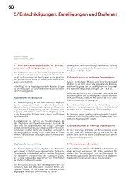 60 5/ Entschädigungen, Beteiligungen und Darlehen