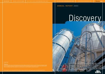 ANNUAL REPORT 2003 - SuperFacts.com