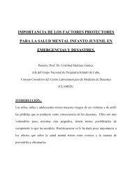 Importancia de los Factores Protectores para la Salud Mental Infanto ...