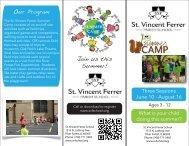 Join us this Summer! Our Program - St. Vincent Ferrer Parish