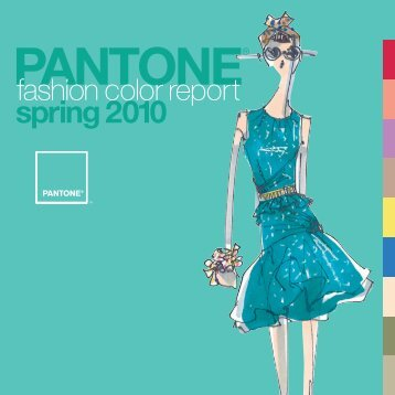 Fashion Color Report Spring 2010 - Pantone