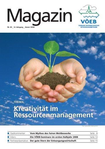 Kreativität im Ressourcenmanagement Kreativität im ... - VÖEB