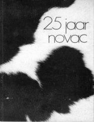 Boekje Novac 25 jr - Zuivelhistorie Nederland