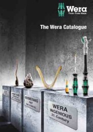 Wera Tools Catalogue - Core Tool Technologies