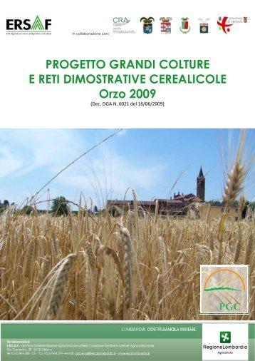 Orzo 2009 - Ersaf