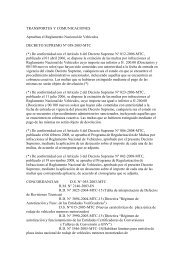 Decreto Supremo Nº 0058-2003-MTC - Protransporte