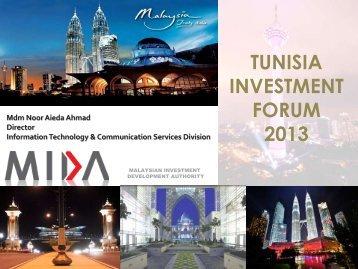 Malaysia - Tunisia Investment Forum