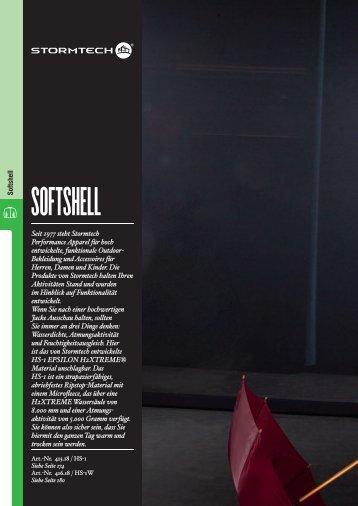 SoFtShell - Stickarbeiten Bock