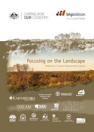 Focusing on the Landscape: Biodiversity in - BushBlitz