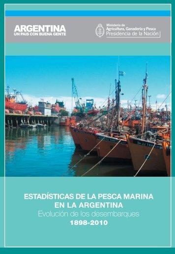 Desembarques totales anuales 1898/2010 - Ministerio de ...