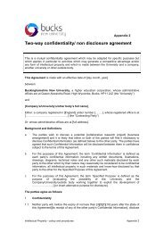 Intellectual Property - Policy & Procedures: Appendix 02: Two-way ...