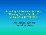 Does Deposit Insurance Increase Banking System ... - World Bank