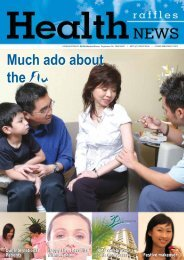 Much ado about the Flu Much ado about the Flu - Raffles Medical ...