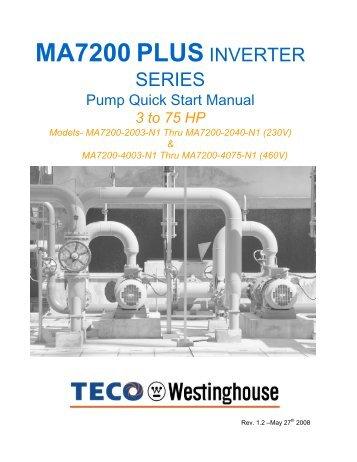 eq5 quick startup guide constant torque teco westinghouse rh yumpu com TECO-Westinghouse Desktop Wallpaper TECO-Westinghouse 3D-models