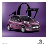 DODATNA OPREMA - Peugeot