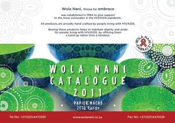 Paper Mache - Wola Nani