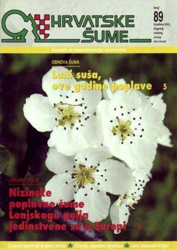HRVATSKE ŠUME 89 - 5/2004