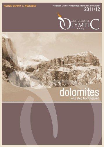 dolomites - Active Hotel Olympic