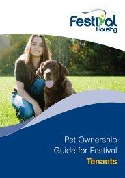 Pet Ownership Guide for Festival Tenants - Festival Housing