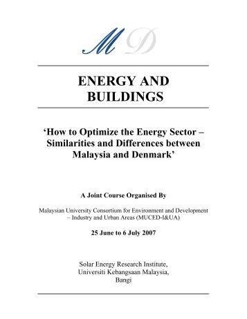 energy and buildings - Sistem e-Warga - Universiti Kebangsaan ...