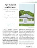 Age biases in employment: - University of Auckland Business Review - Page 2
