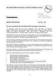 Die neue europäische Norm EN 15861 für Räucheranlagen ist ...