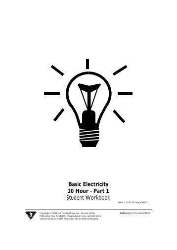 Basic Electricity 10 Hour - Part 1 Student Workbook