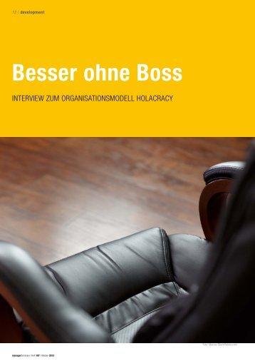 Besser ohne Boss - Christiane Schneider im Interview ... - cidpartners