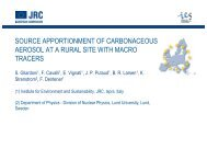 source apportionment of carbonaceous aerosol at a rural site with ...