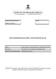 Aggiudicazione definitiva.pdf - Comune di Reggio Emilia