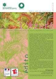 L'Azuré - La maison de l'environnement de Franche-Comté