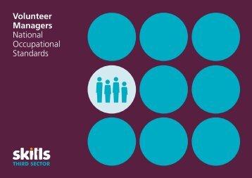 Volunteer Managers National Occupational Standards