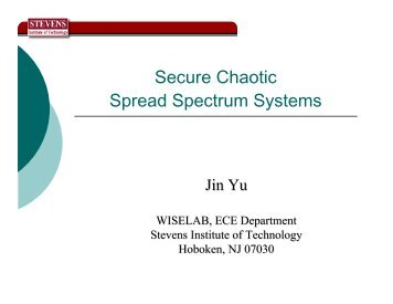 Secure Chaotic Spread Spectrum Systems