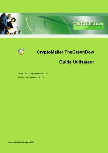 CryptoMailer Guide Utilisateur - TheGreenBow
