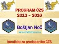 Boštjan Noč - Čebelarska zveza Slovenije